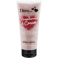 I LOVE… Exfoliating Shower Smoothie Strawberries & Cream 200 ml - Peeling