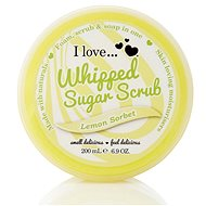 I LOVE… Whipped Sugar Scrub Lemon Sorbet 200 ml - Telový peeling