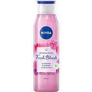 NIVEA Fresh Blends Raspberry, Blueberry, Almond Milk 300 ml - Sprchový gél