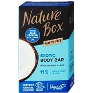 NATURE BOX Coconut Oil Shower Bar 100 g - Tuhé mydlo