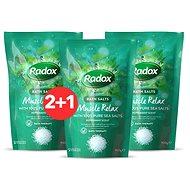 RADOX Muscle Relax Bath Salts 900 g 2 + 1
