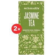 SCHMIDT'S Sensitive Jasmine + Tea 2 × 58 ml