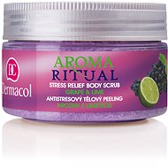 DERMACOL Aroma Ritual Grape & Lime Stress Relief Body Scrub 200 g - Peeling