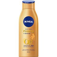 NIVEA Firming + Bronze Q10 Body Lotion 400 ml - Telové mlieko