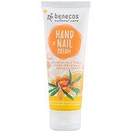 BENECOS BIO Hand & Nail Cream Rakytník a pomaranč 75 ml - Krém na ruky