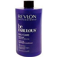 REVLON Be Fabulous Fine Cream Lightweight Conditioner 750 ml - Kondicionér