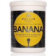 KALLOS Banana Fortifying Hair Mask1000 ml - Maska na vlasy
