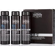 ĽORÉAL PROFESSIONNEL Homme COVER 5' 7 3× 50 ml (7 – stredne blond) - Farba na vlasy pre mužov
