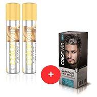 COLORWIN BLOND sprej na odrasty 2 × + COLORWIN šampón 150 ml - Sada