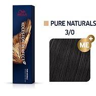 WELLA PROFESSIONALS Koleston Perfect Pure Naturals 3/0 60 ml - Farba na vlasy