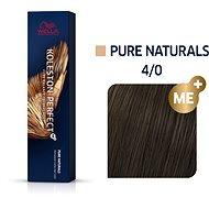 WELLA PROFESSIONALS Koleston Perfect Pure Naturals 4/0 60 ml - Farba na vlasy