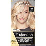 ĽORÉAL PARIS Préférence 9.1 Oslo Svetlá popolavá blond 174 ml - Farba na vlasy