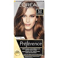 L'ORÉAL PARIS Préférence 5.3. Virginia Light Brown Gold 174ml - Hair Dye