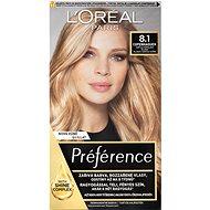 ĽORÉAL PARIS Préférence 8.1 Copenhaguen Svetlá popolavá blond 174 ml - Farba na vlasy