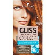 SCHWARZKOPF GLISS COLOR 7-7 Medená tmavoplavá 60 ml - Farba na vlasy
