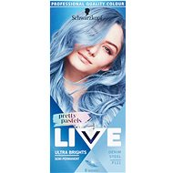 SCHWARZKOPF LIVE Ultra Brights Pretty Pastels P121 Denim Steel (50ml) - Hair Dye
