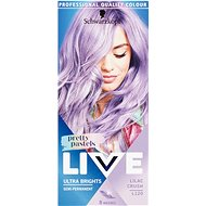 SCHWARZKOPF LIVE Ultra Brights Pretty Pastels L120 Lilac Crush (50ml) - Hair Dye
