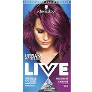SCHWARZKOPF LIVE Urban Mettalics U69 Amethyst Chrom (50 ml) - Farba na vlasy