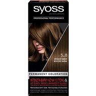 SYOSS Color 5-8 Orieškovohnedá (50 ml) - Farba na vlasy