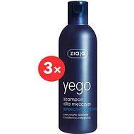 ZIAJA Men Šampon proti lupům 3 × 300 ml