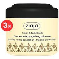 ZIAJA Argan Oil Mask 3 × 200 ml
