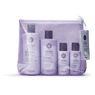 MARIA NILA Sheer Silver Beauty Bag - Darčeková kozmetická súprava