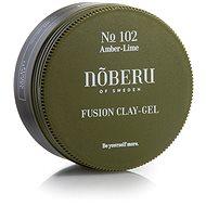 NOBERU Amber-Lime Fusion Clay Gel 80ml - Hair Gel