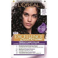 ĽORÉAL PARIS Excellence Cool Creme 3.11 Ultra popolavá tmavá hnedá