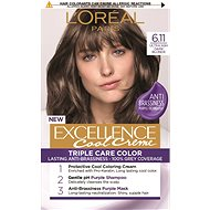ĽORÉAL PARIS Excellence Cool Creme 6.11 Ultra popolavá tmavá blond