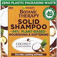 GARNIER Botanic Therapy Solid Shampoo Coconut & Macadamia vyživující a zjemňující tuhý šampon 60 g