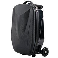 Luggage on the wheels BLACK - Skladacia kolobežka