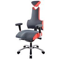 Therapia Energy L - svetlo šedá/jahodová - Kancelárska stolička