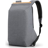 "Kingsons Anti-theft Backpack Light Grey 15.6"" - Batoh na notebook"
