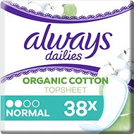 ALWAYS Cotton Protection Normal Intimate 38 pcs - Panty Liners