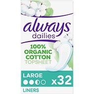 ALWAYS Cotton Protection Large Intímky 32 ks - Slipové vložky