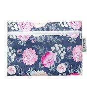 T-TOMI Nepremokavé vrecko – Grey Flowers - Vrecko