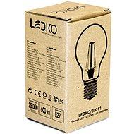 LEDKO FILAMENT E27 6 W 2700 K - LED žiarovka