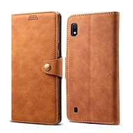 Lenuo Leather na Samsung Galaxy A10, hnedé - Puzdro na mobil