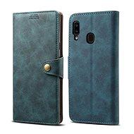 Lenuo Leather na Samsung Galaxy A20e, modré