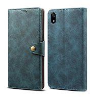 Lenuo Leather na Xiaomi Redmi 7A, modré - Puzdro na mobil
