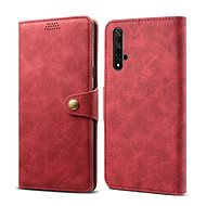 Lenuo Leather pre Honor 20/Huawei Nova 5T, červené