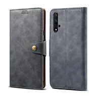 Lenuo Leather pre Honor 20/Huawei Nova 5T, sivé