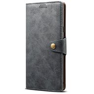 Lenuo Leather pre Xiaomi Mi A3, sivé