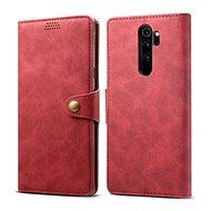 Lenuo Leather pre Xiaomi Redmi Note 8 Pro, červené - Puzdro na mobil