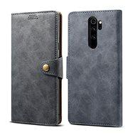 Puzdro na mobil Lenuo Leather pre Xiaomi Redmi Note 8 Pro, sivé - Pouzdro na mobil