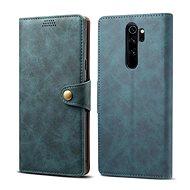 Lenuo Leather pro Xiaomi Redmi Note 8 Pro, modrá