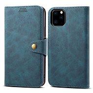 Lenuo Leather pro iPhone 11 Pro, modrá