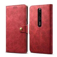 Lenuo Leather pre Xiaomi Redmi 8, červené - Puzdro na mobil