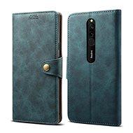 Lenuo Leather pre Xiaomi Redmi 8, modré - Puzdro na mobil