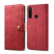 Puzdro na mobil Lenuo Leather pre Xiaomi Redmi Note 8T, červené - Pouzdro na mobil